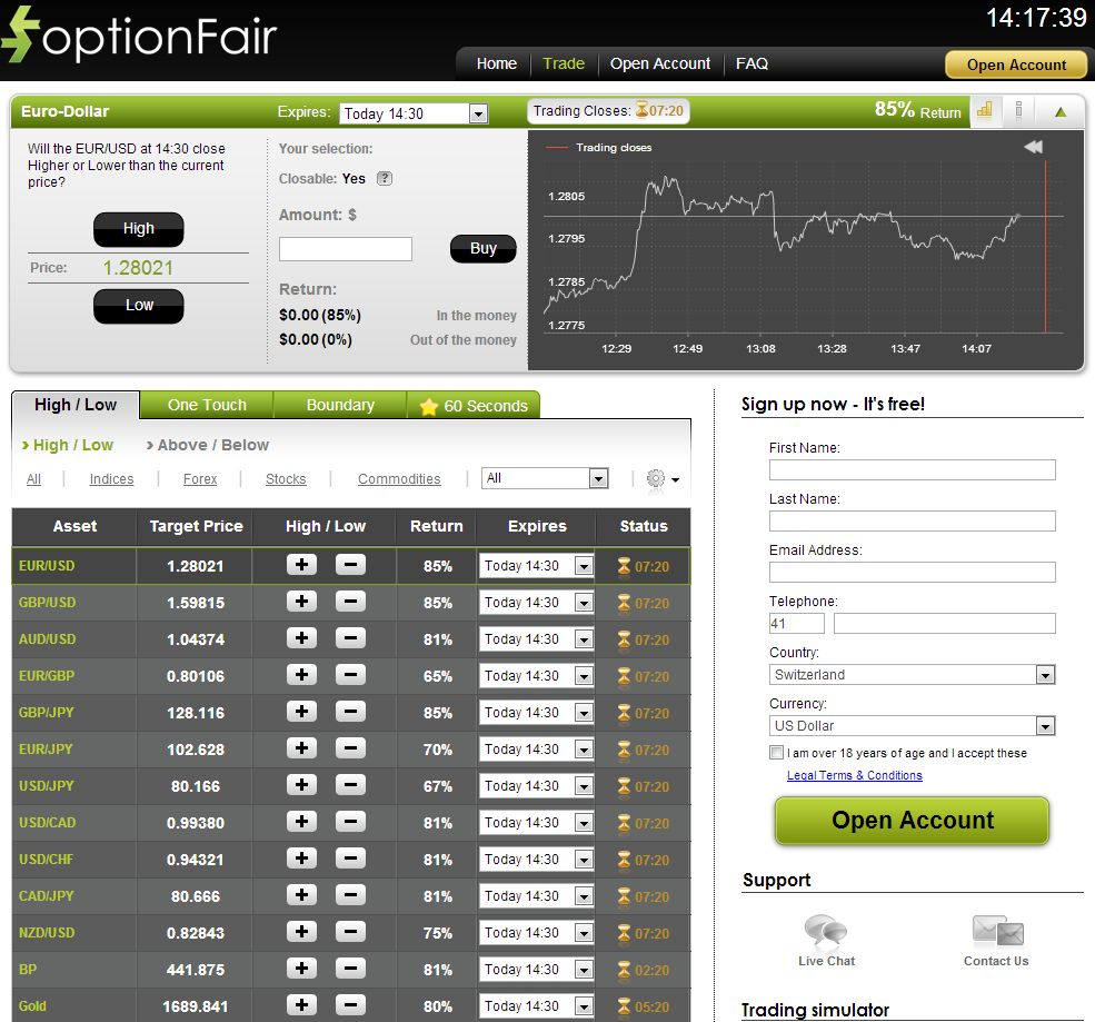 Optionfair binary